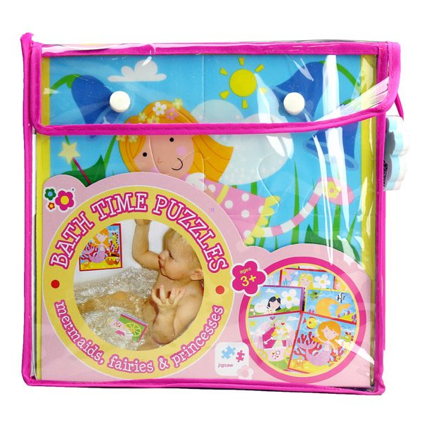 Bath Time Puzzles – Mermaids Fairies and Princesses